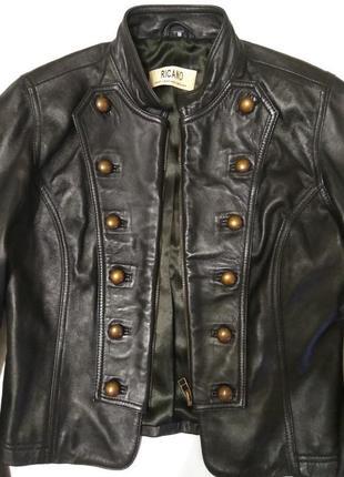 Кожаная шкiряна куртка піджак ricano