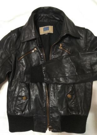 Шкіряна кожаная куртка vera pelle