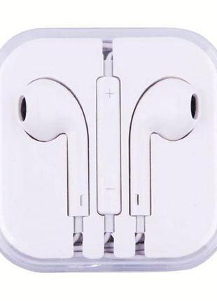 Проводные наушники Apple I5 EarPods, Наушники для iPhone iPod/ad