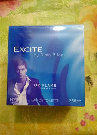 Туалетная вода excite by dima bilan oriflame  дима билан