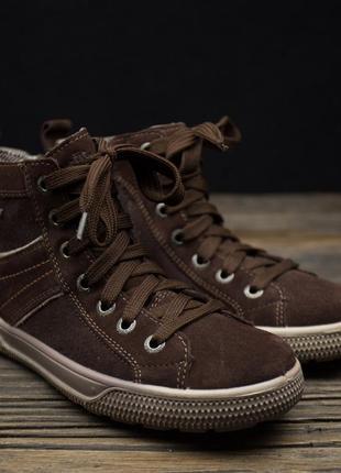 Шикарные непромокаемые ботинки superfit gore tex оригинал р-34