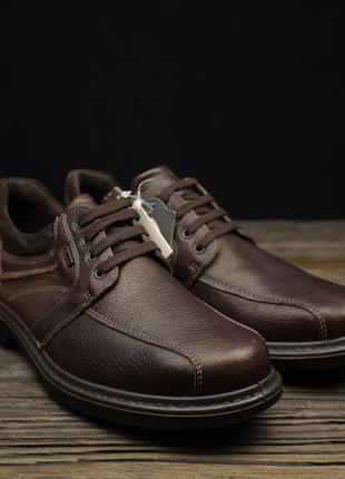Мужские непромокаемые кожаные туфли ботинки gallus р-44