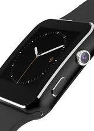 Smart watch X6 смарт часы Х6 функция телефона поддержка СИМ
