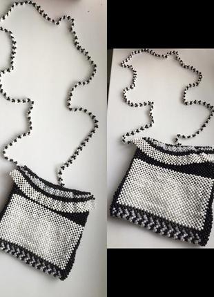Сумочка из бисера, сумочка з бісеру, handmade.