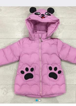 Куртка на девочку демисезонная 3-6 лет
