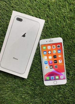 Apple iPhone 8 Plus 64GB (Silver) (MQ8M2)