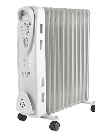 Обогреватель масляный радиаторный Adler AD 7809 2500Вт 11 секций