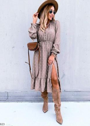 Платье осень.