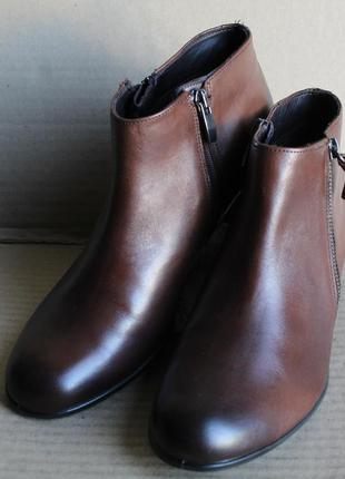 Ботинки ecco shape m 35 273093 оригінал натуральна кожа