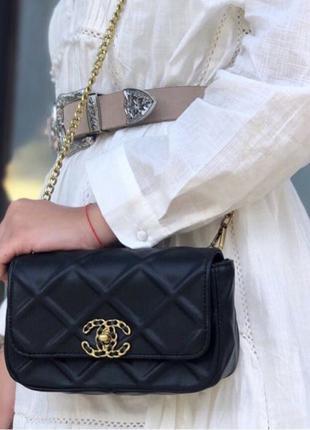 Chanel Flap Bag 20 Сумка Женская Клатч Шанель 1:1 Оригинал Жіноча