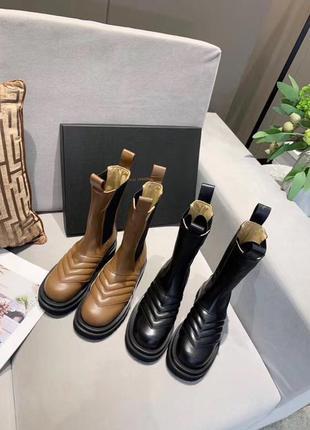 Ботинки bottega veneta vuitton becca