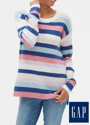 Джемпер свитер пуловер в полоску ,gap