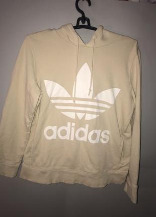 Идеальное бежевое худи Adidas