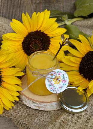 Натуральний соняшниковий мед