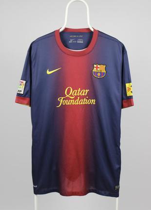 Футбольная футболка форма nike barcelona