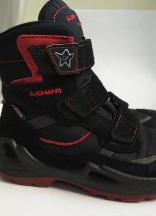 Зимние ботинки lowa gore tex р.31