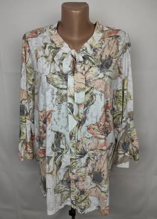 Блуза красивая большого размера marks&spencer uk 22/50/4xl