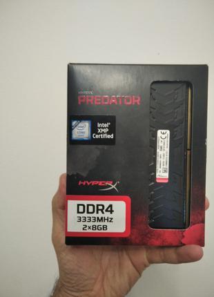 Оперативная память DDR4 HyperX PREDATOR 3333 16GB (ГАРАНТИЯ)