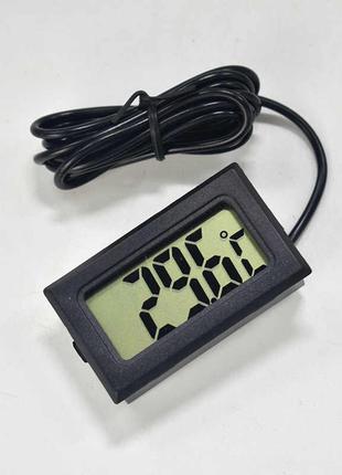 Термометр автомобильный с выносным датчиком (авто градусник цифро