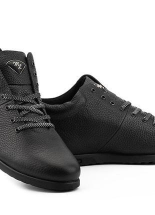 Мужские ботинки из натуральной кожи milord olimp на байке