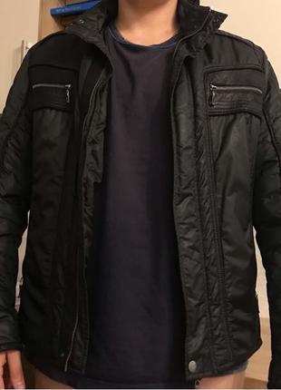 Мужская осенняя куртка Giorgio Armani