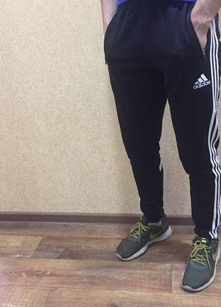 Спортивные штаны adidas. спортивки adidas climacool. climalite...