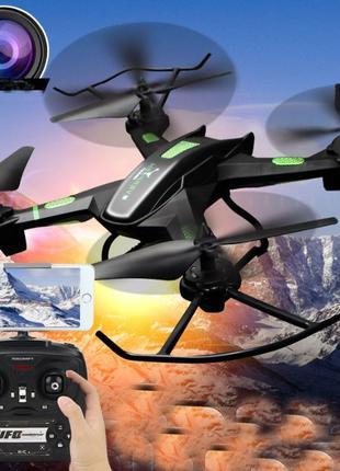 Квадрокоптер Phantom D5HW WiFi дрон с камерой/вертолет/складно...