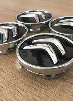 Колпачки на диски Citroen 4 108 60мм ds3 ds4 ds5 c1 c2 c3 c4 c5