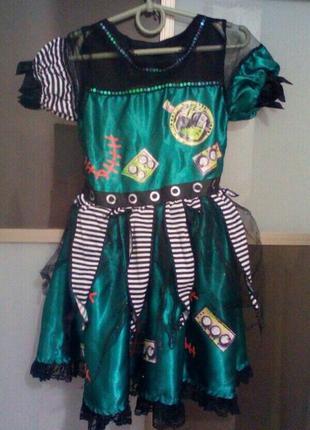 Карнавальный костюм платье на хэллоуин