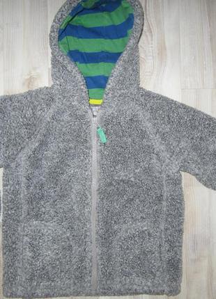 Флисовая кофта куртка меховушка