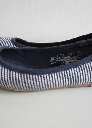 Балетки туфли f&f