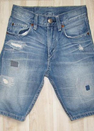 Джинсовые шорты h&m