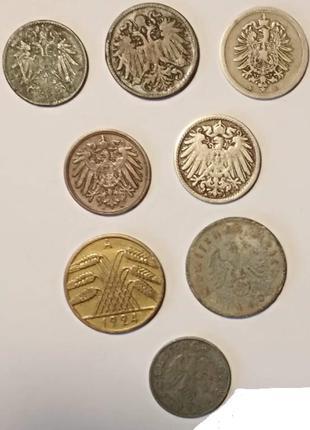 Германия 1876-1944  8штук