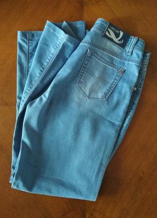 Женские летние голубые джинсы CARDELLINO
