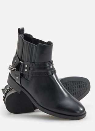 Ботинки жіночі, черевики на низькому каблуку, ботинки короткі,...