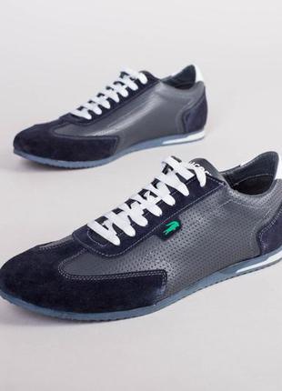 Мужские низкие кроссовки перфорация