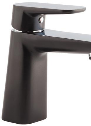 Чёрный Смеситель для умывальника Venezia Kapadokya 5010904-05