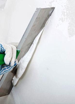Шпаклевка, малярные работы Киев
