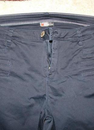 Женские брюки темно-синего цвета