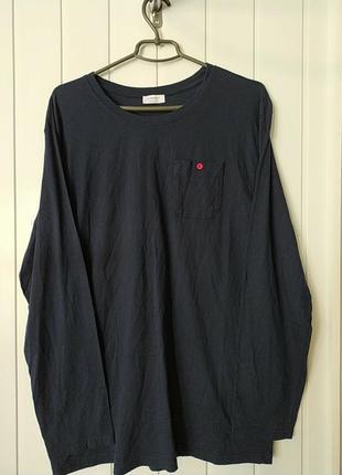 Хлопковая пижамная футболка длинний рукав германия