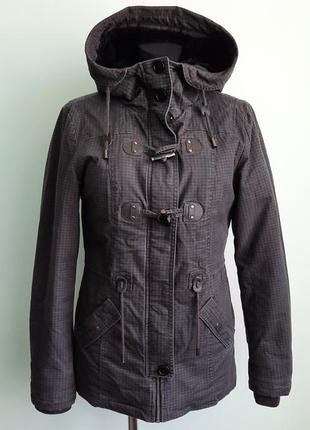Куртка парка от yessica осень зима размер 8 s