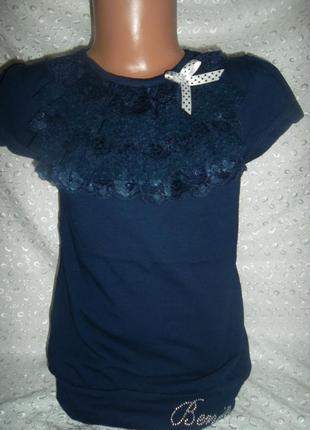 Нарядная кофточка блузка на девочку 152р венини