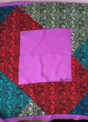 Nina ricci шелковый платок