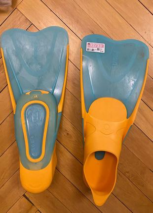 Продам детские ласты Decathlon 32 33 размер