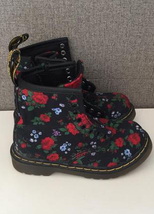 Дитячі черевики dr. martens brooklee детские ботинки сапоги ор...