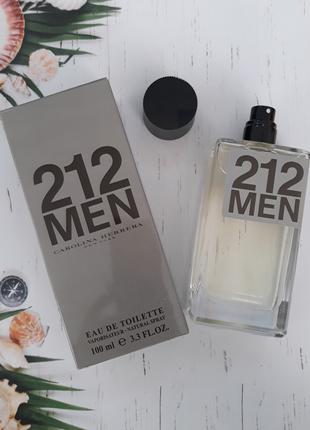 Мужская туалетная вода Carolina Herrera 212 Men (100 мл)