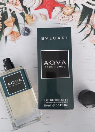 Мужская туалетная вода Bvlgari Aqva Pour Homme - 100 мл