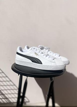 Крутые кроссовки puma basket