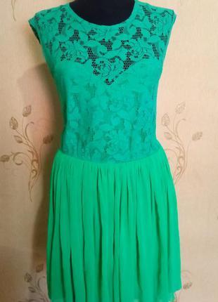 Платье кружево сетка фатин asos