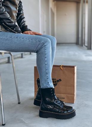 Ботинки dr martens без меха